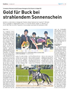 Laura Buck Schweizer Meisterschaft